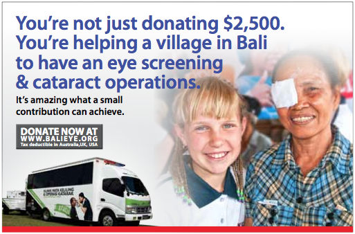 Become Personally Involved with Your Donation