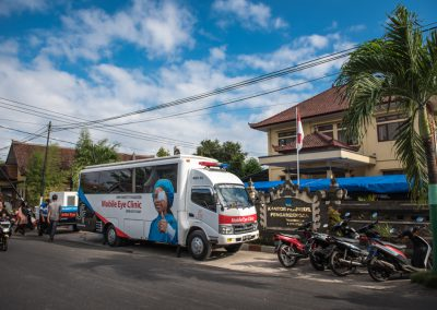 Village Mobile Eye Clinic Programs- Bali