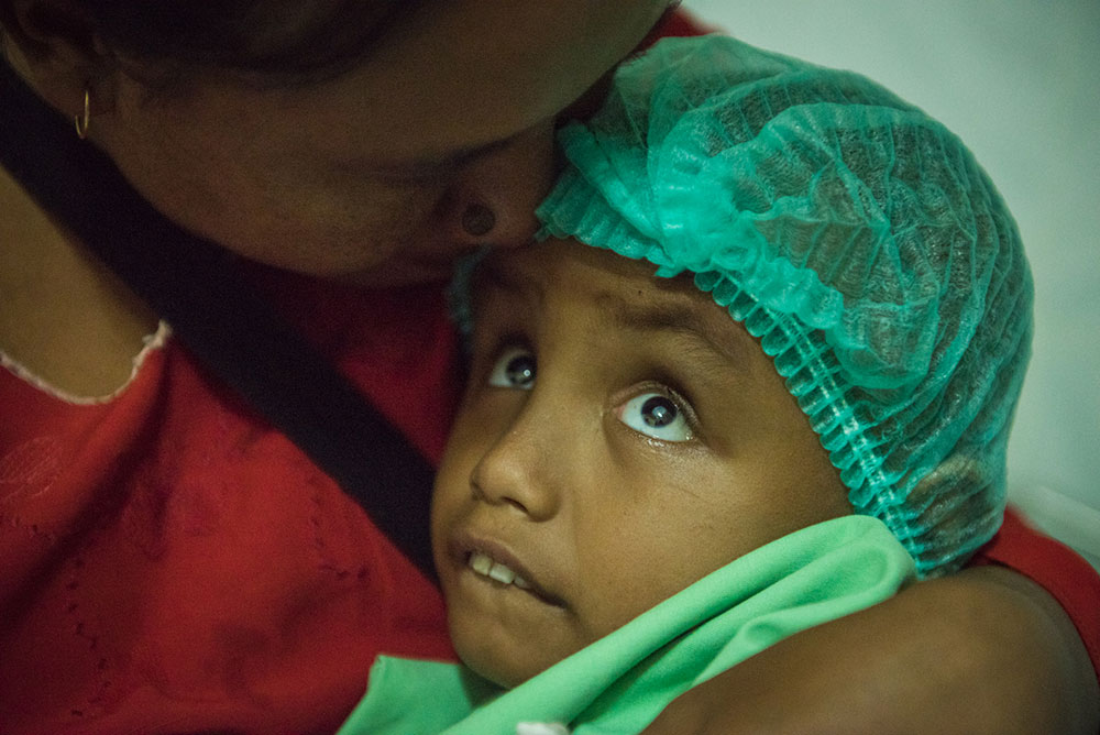 THE GIFT OF SIGHT FOR 'LITTLE ARDI'
