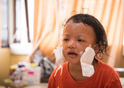 BLIND CHILDREN RESTORED TO SIGHT