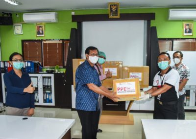 PPE FOR FRONTLINE HEALTH WORKERS IN BALI