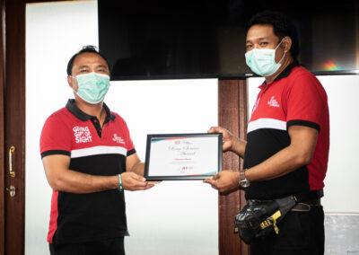 STAFF LONG-SERVICE AWARD